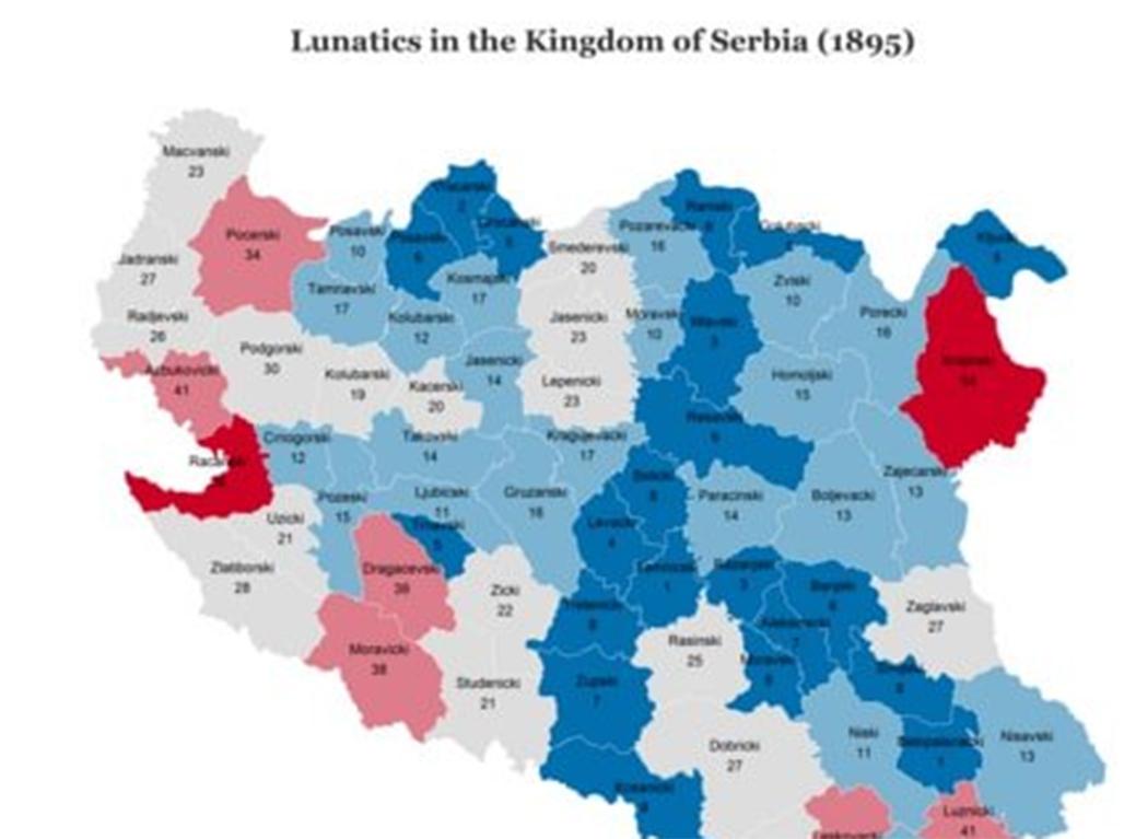 Neobicna Mapa Srbije Iz 1895 Pronađite Svoj Kraj I Pretke I Mozda